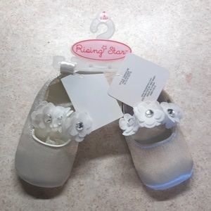 Rising Star baby girl slippers/dress shoes